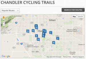 chandler, bike, bicycle, trails, rides, routes, az, arizona, rentals,