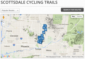 scottsdale, bike, bicycle, trails, rides, routes, az, arizona, rentals,