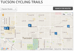 tucson, bike, bicycle, trails, rides, routes, az, arizona, rentals,